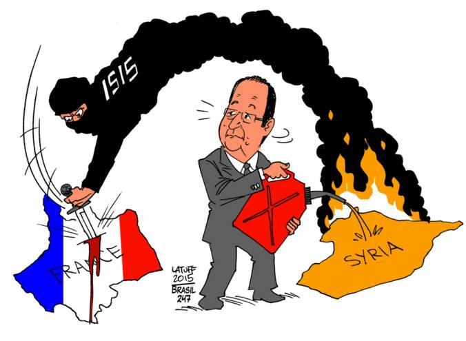 la France met de l'huile sur le feu
