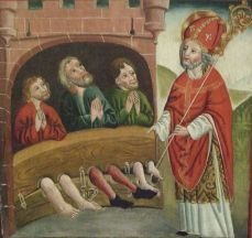 Saint Nicolas sauve 3 condamnés à mort, innocents.