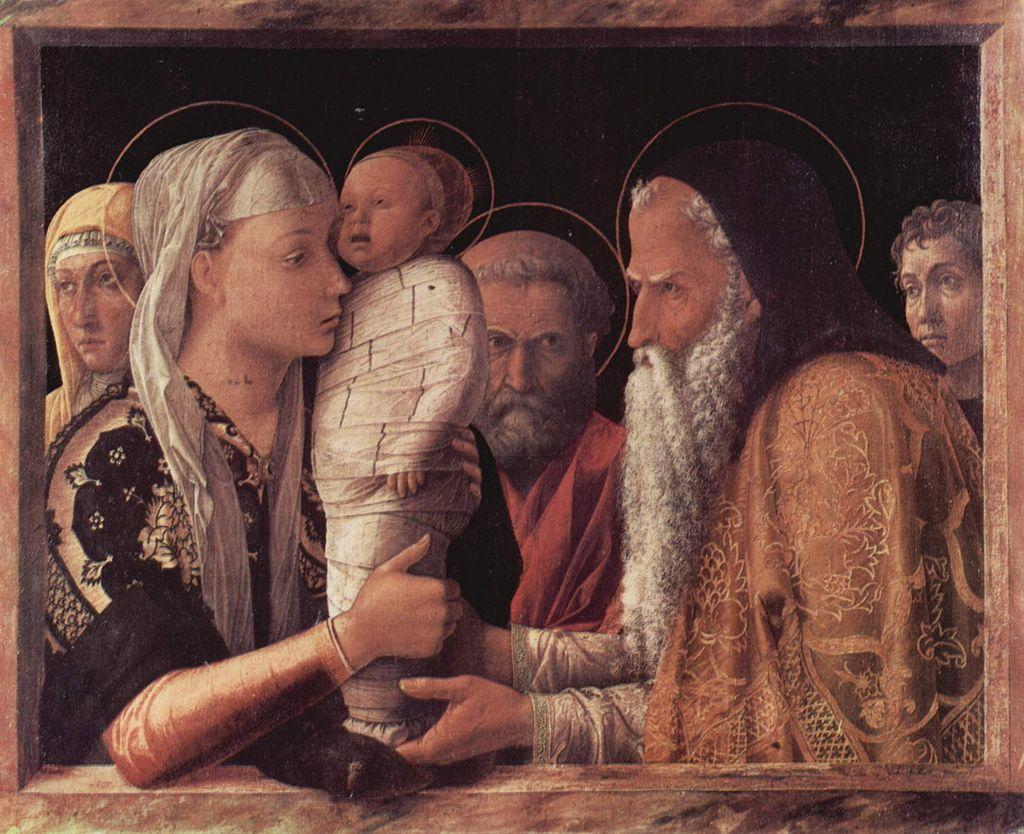 Présentation de Jésus au Temple, Andrea Mantegna, 1465.