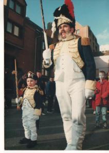 Pintje Bier II et son petit fils Yorick.