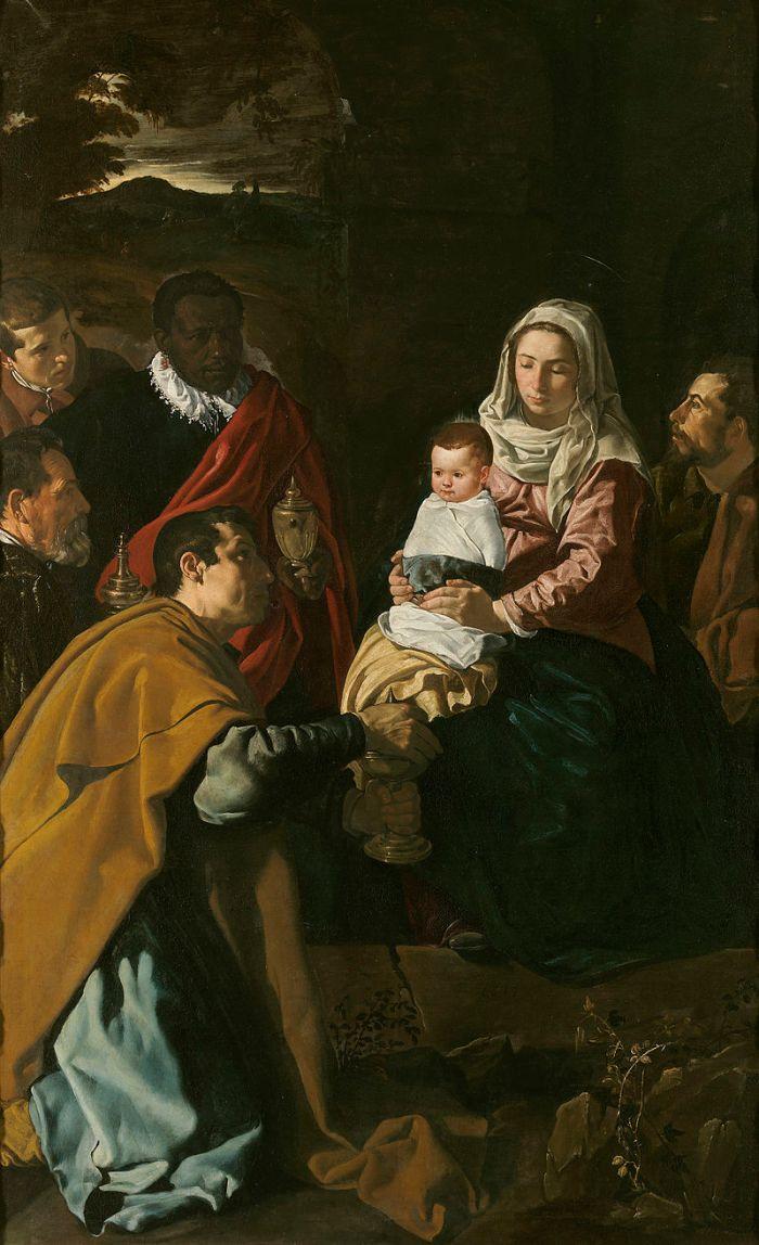 Vélasquez, Adoration des Mages, 1619