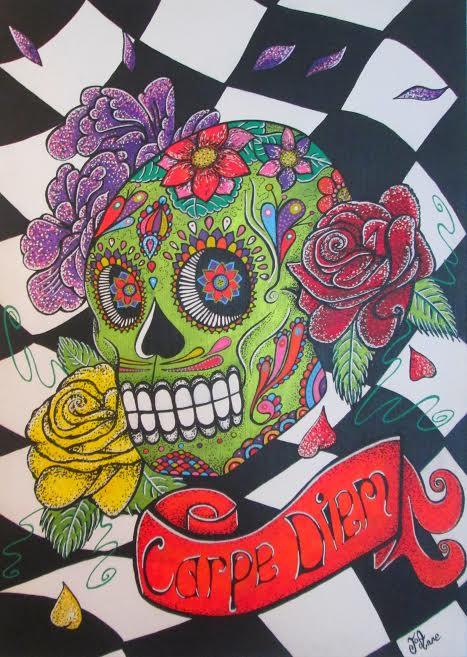 Skull Mexico.