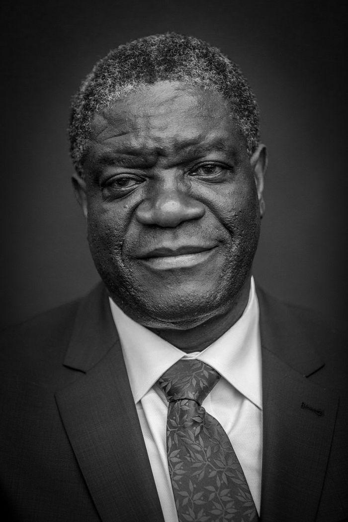 Le Docteur Denis Mukwege en 2014.