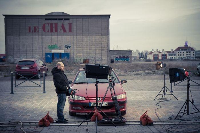 tournage sur le môle
