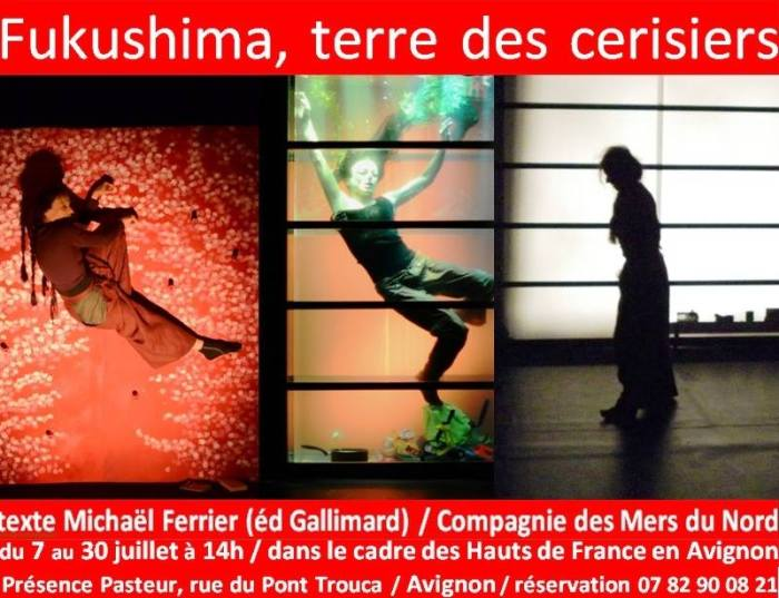 Affiche du spectacle de Brigitte Mounier.