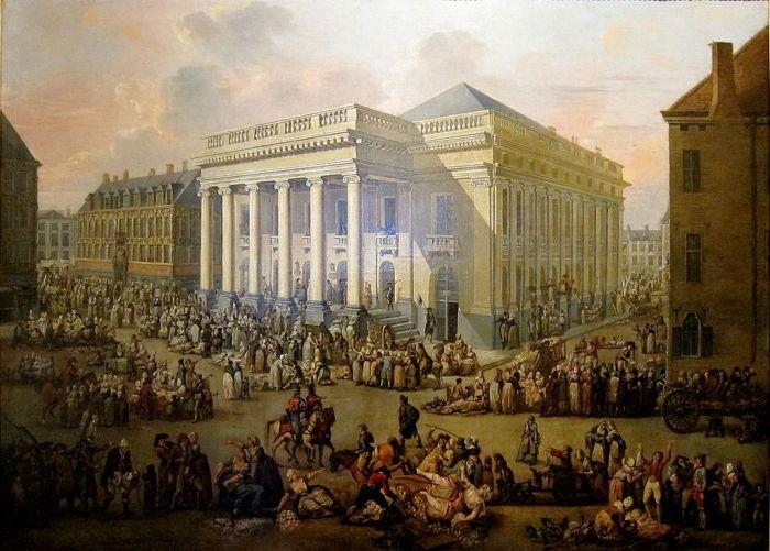 Watteau, La Braderie de Lille, 1799-1800.