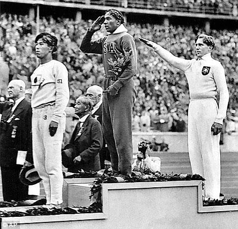 Jesse Owens. J.O. d'été de Berlin, 1936.