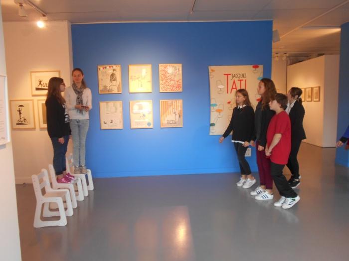 Séance de répétition à la Galerie Robespierre de l'Atelier Scène, octobre 2016.