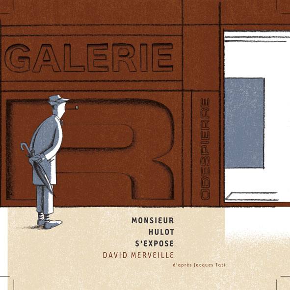 Monsieur Hulot s'expose, David Merveille, Galerie Robespierre, Grande Synthe.
