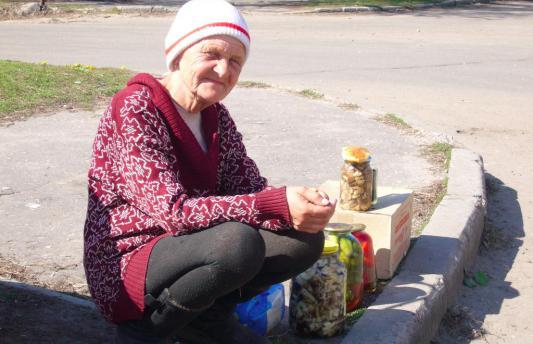 Visage de la pauvreté en Russie...