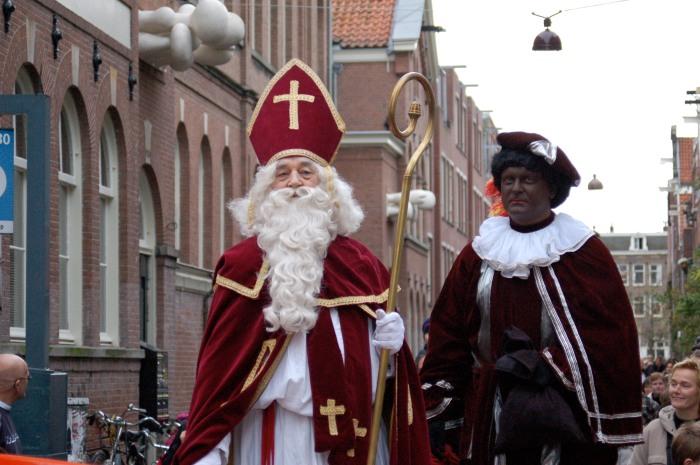 Zwarte Piet, l'alter ego négatif de Sinter Klaas, en Belgique.