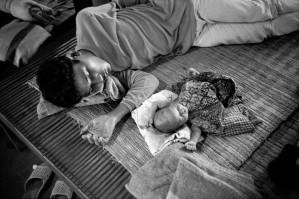 THAILAND. Camp de Refugiés. 1989. John Vink.