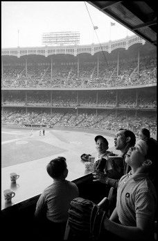 USA. New York City. 1962. Yankee Stadium. Inge Morath.