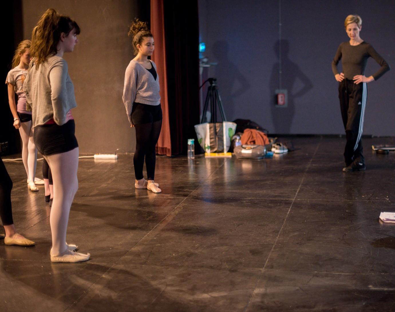 répétition danse Valérie